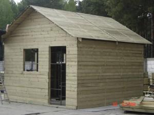 domek narzędziowo-mieszkalny 6,0 x 6,0