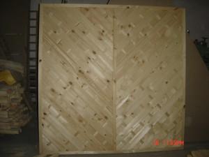 Płot Diagonalny Prosty 180 x 180
